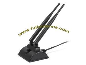 P / N: FA2.45.8G.20, WiFi / 2.4G 5.8G Zewnętrzna antena, 2.4G 5.8G antena do łatwego montażu routera WiFi