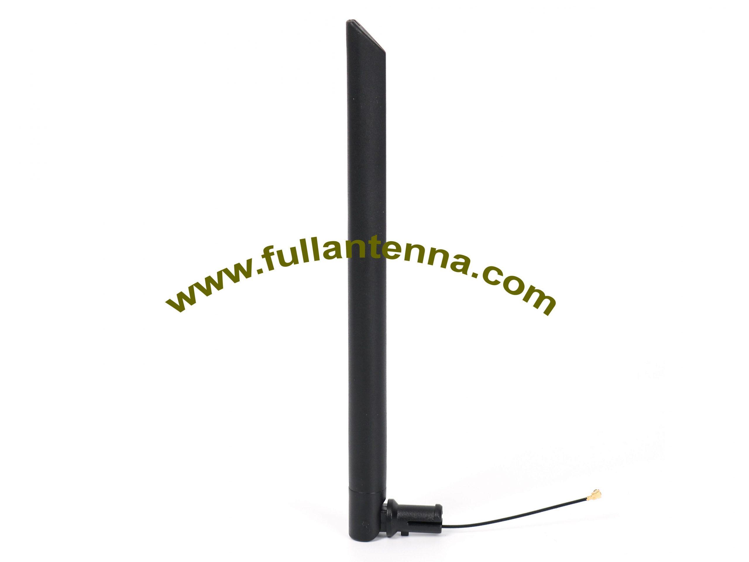 P/N:FA2400.0204,WiFi/2.4G Rubber Antenna,  5-20cm  ipex or u.fl
