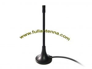 P / N: FA2400.03, zewnętrzna antena WiFi / 2.4G, uchwyt magnetyczny, gumowa antena biczowa RP SMA