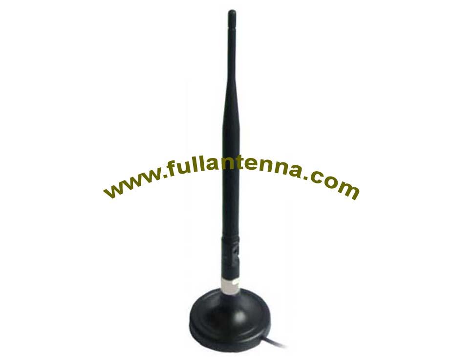 P/N:FA2400.06051,WiFi/2.4G External Antenna, 5dbi magnetic mount