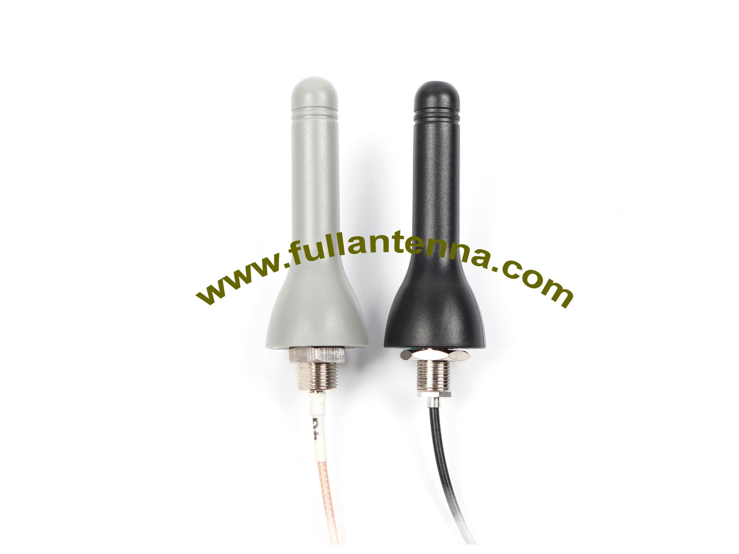 P/N:FA2400.0801,WiFi/2.4G External Antenna,SCREW mount antenna, housing Black or grey color