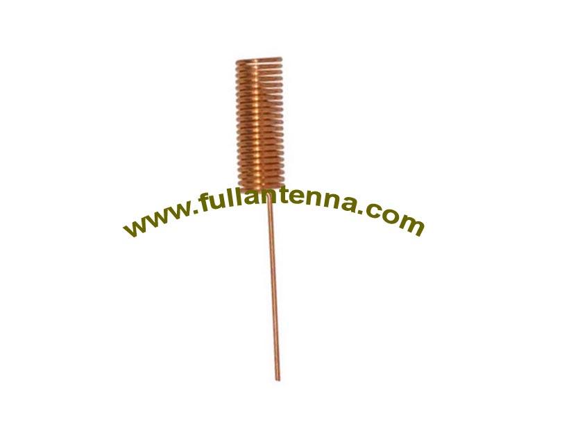 P/N:FA433mhz.01Spring, Spring Antenna, inner antenna 433MHZ,customize size