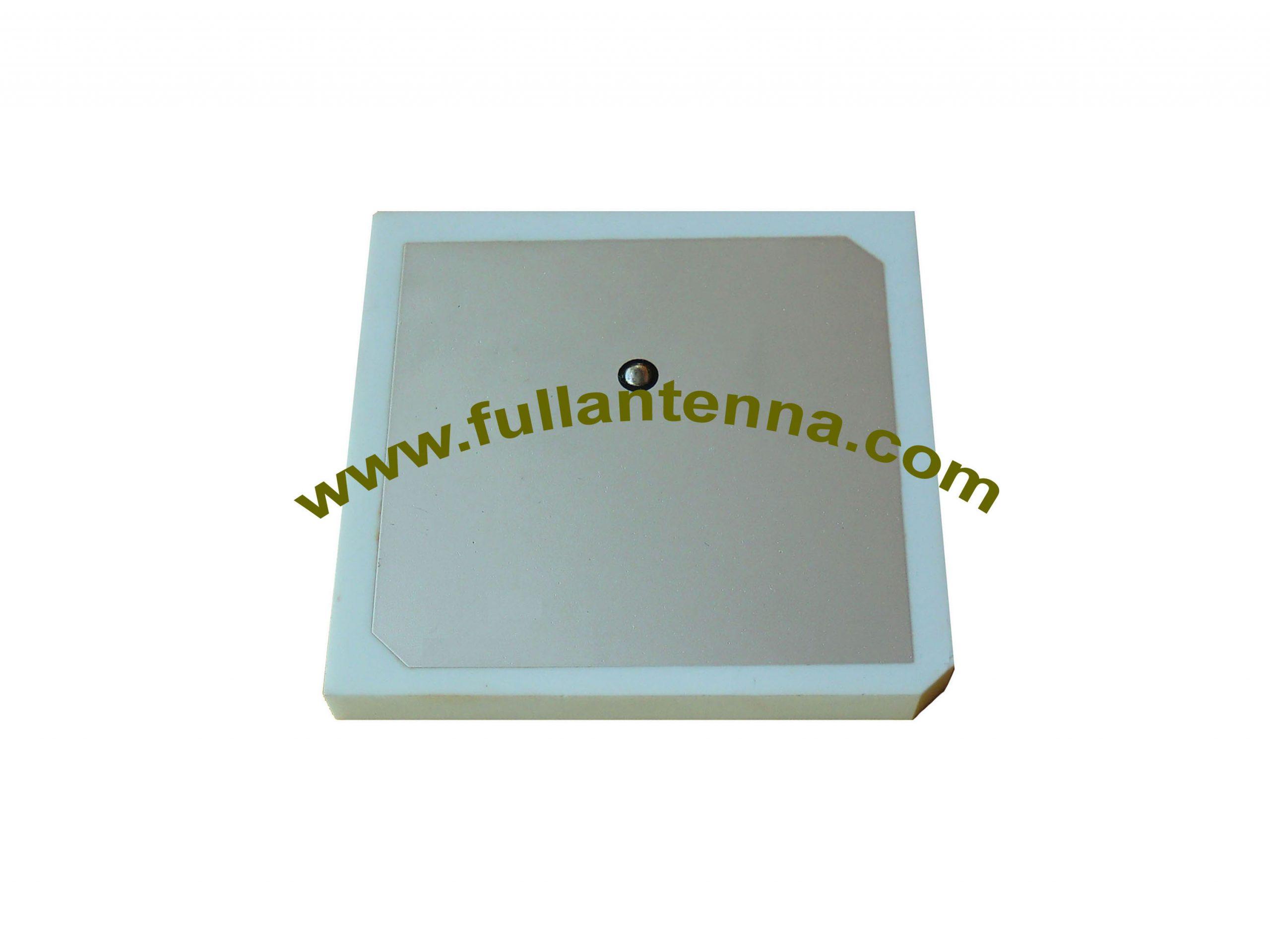 P/N:FA868.636,868Mhz Antenna,63x63x6mm patch RFID dielectric Antenna