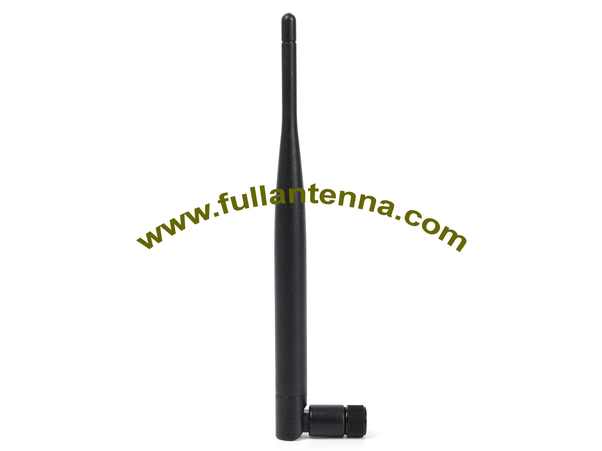 P/N:FA2400.050501,WiFi/2.4G Rubber Antenna,,SMA male or RP SMA male