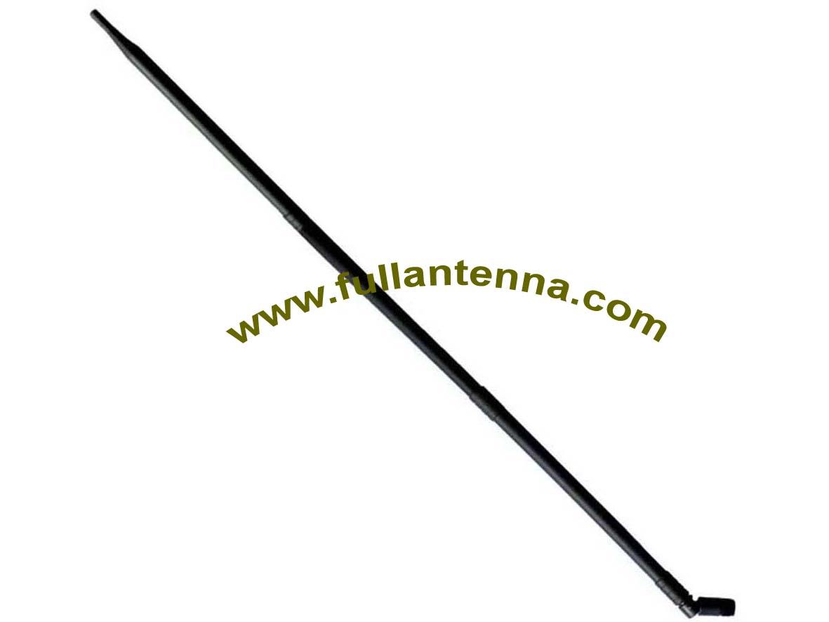 P/N:FA2400.0513,WiFi/2.4G Rubber Antenna,high gain  13dbi,SMA male or RP SMA male