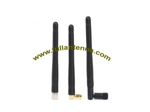 P/N:FA3G.0302,3G Rubber Antenna, 3G SMA straight right angle or rotation male connector