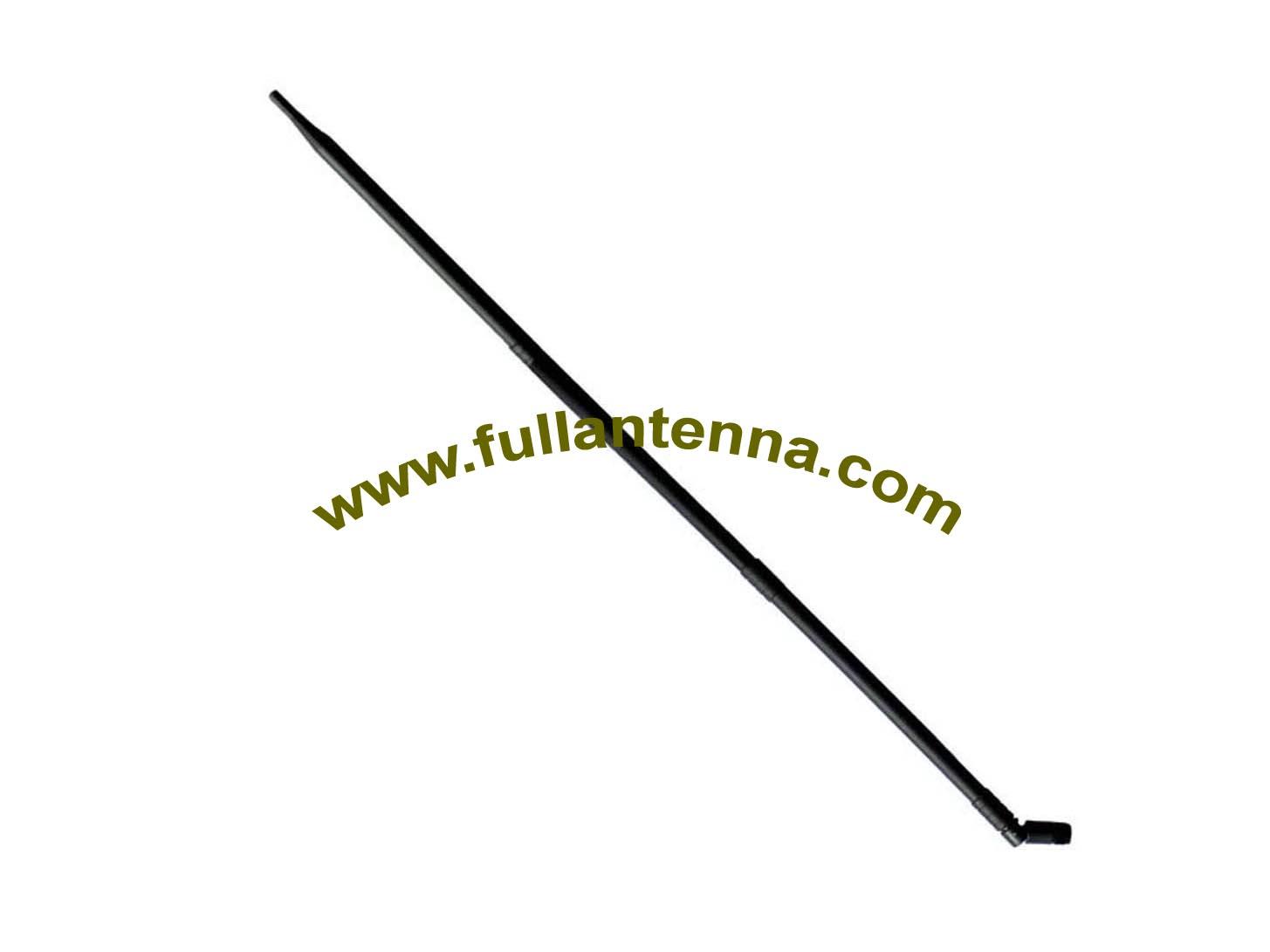 P/N:FA433.04H,433Mhz Antenna,6dbi high gain 433mhz rubber antenna length 703mm SMA TNC male