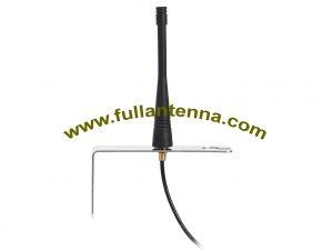 P / N: FA868.02SCL, 868 MHz Antena L mocowanie śrubowe