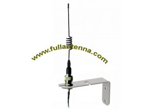 P/N:FA915.0604,915Mhz Antenna,L bracket mount RFID whip antenna 2-5meters cable SMA connector
