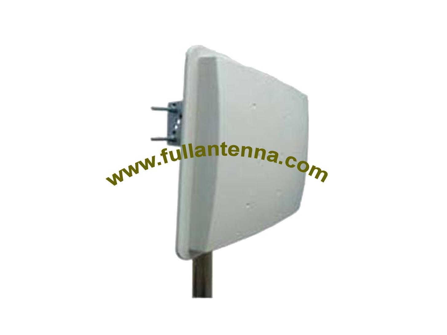 P/N:FA915.W08B,915Mhz Antenna,patch  RFID 8dbi Gain antenna with N female Bracket