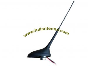 P/N:FAAMFM.04,AM/FM Antenna, AM/FM screw mount antenna for car cable length 20cm to 5m
