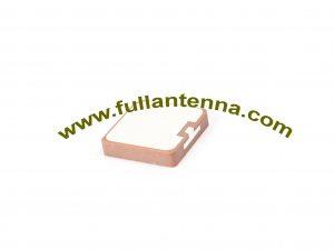 P / N: FAGPSGlonass.184SMD, antena dielektryczna Glonass, łatka Gnss Antena SMD mocowanie 18x18x4mm