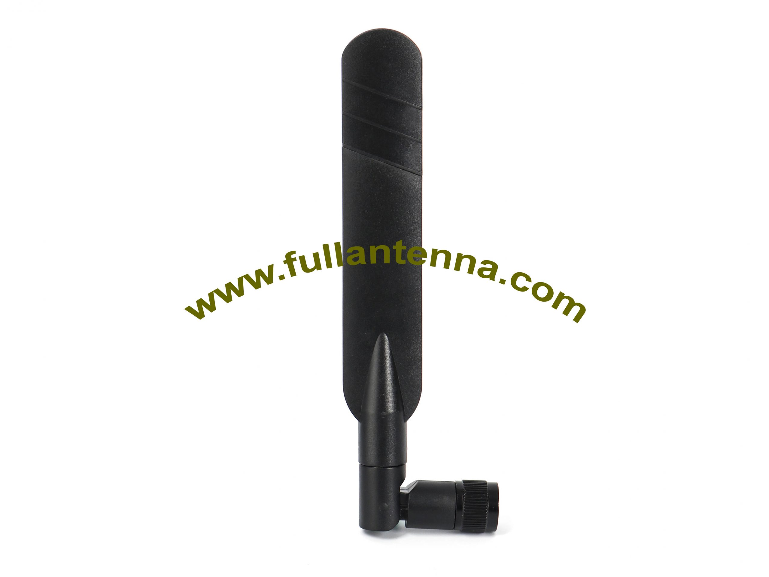 P/N:FALTE.0202,4G/LTE Rubber Antenna,4G duck antenna with TNC rotation male or N male
