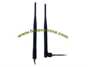 P / N: Antena zewnętrzna FALTE.1102,4G / LTE, gumowa antena LTE z mocowaniem śrubowym kabla
