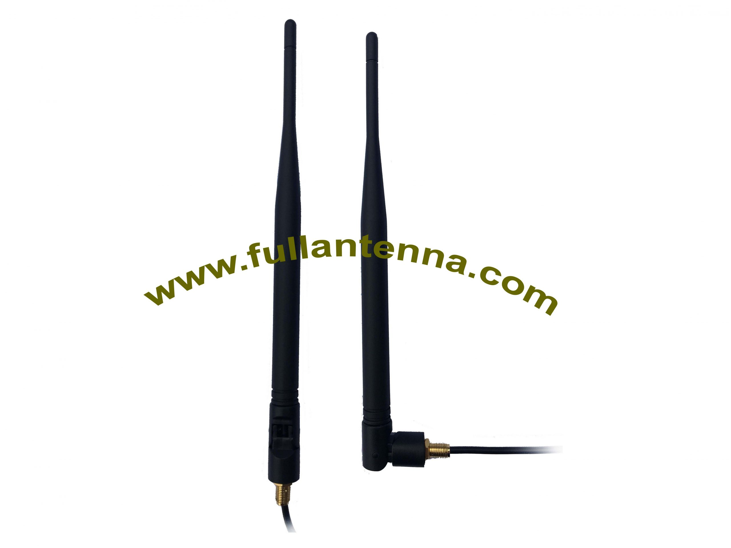 P/N:FALTE.1102,4G/LTE External Antenna,LTE rubber antenna with cable screw mount