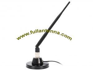 P / N: FA2400.0607, zewnętrzna antena WiFi / 2.4G, mocny magnes 70 mm, zysk 7dbi