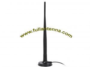 P / N: FA2400.06071, zewnętrzna antena WiFi / 2.4G, mocowanie magnetyczne anteny 7dbi RP SMA