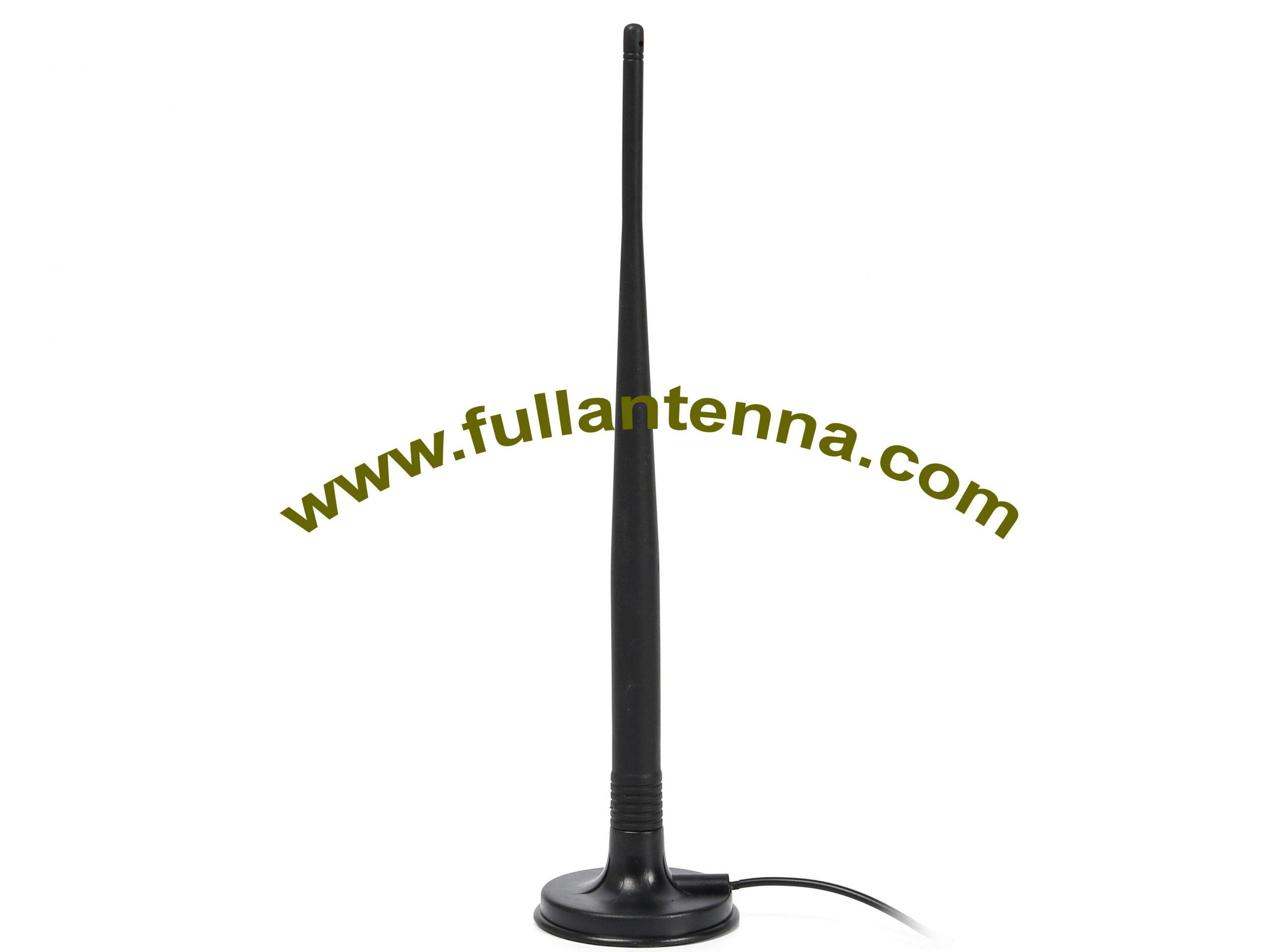 P/N:FA2400.06071,WiFi/2.4G External Antenna, 7dbi antenna magnetic mount RP SMA