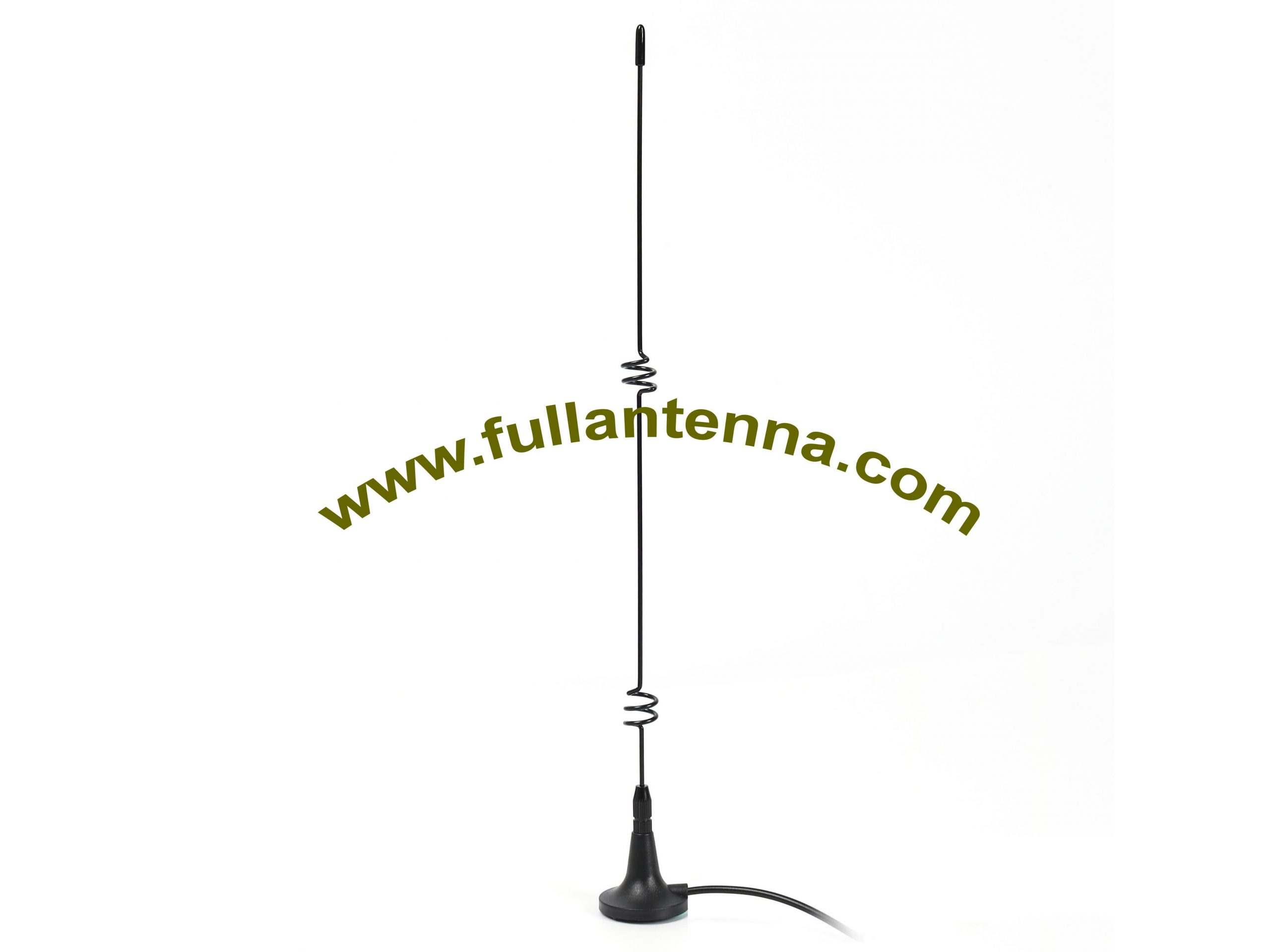 P/N:FA3G.0601,3G External Antenna,small base metal whip high gain TNC or SMC connectors