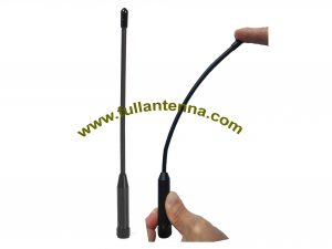 P / N: FA868. Flexwhip, antena 868 MHz, bardzo elastyczna antena biczowa SMA męski