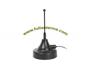 P/N:FA915.0606,915Mhz Antenna, strong magnetic whip antenna 915mhz frequency for car