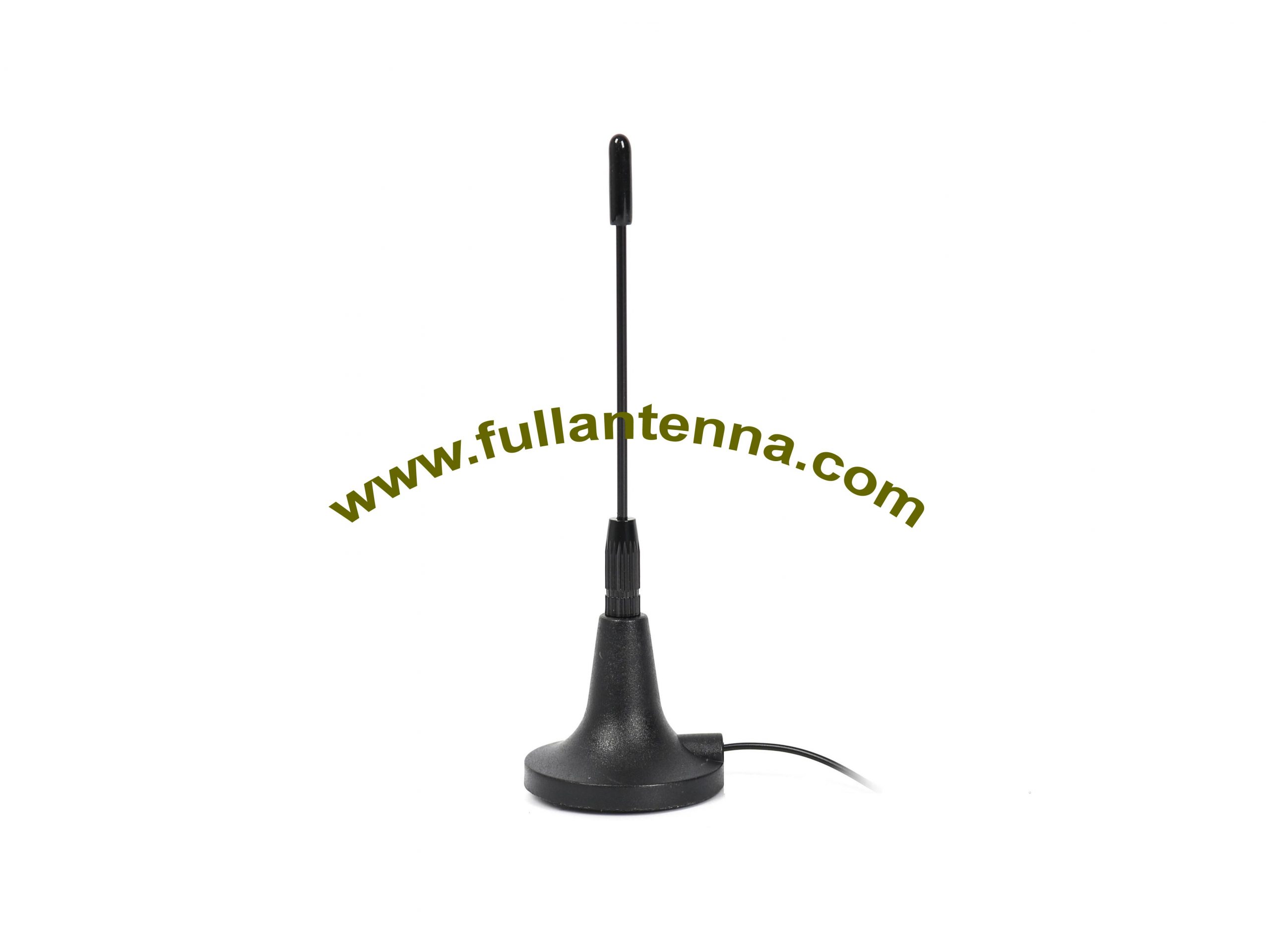 P/N:FAGSM.03,GSM External Antenna, magnetic mount metal whip 3-5meters cable