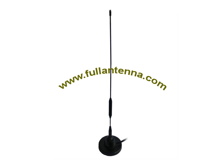 P/N:FAGSM.2005,GSM External Antenna,Strong magnetic base  mount  BNC connector