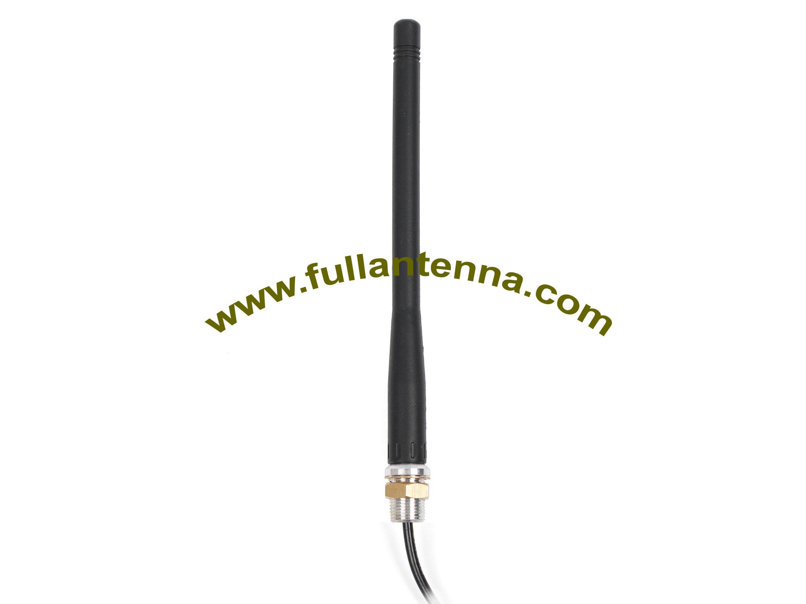 P/N:FALTE.0303Screw,4G/LTE External Antenna,LTE/4G antenna rubber whip screw mount