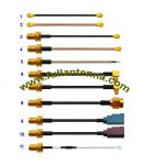 FA.Cable Assemblies1,all kinds of pigtails,IPEX,U.FL to IPEX,SMA to MCX,MMCX,IPEX,FAKRA or stripped