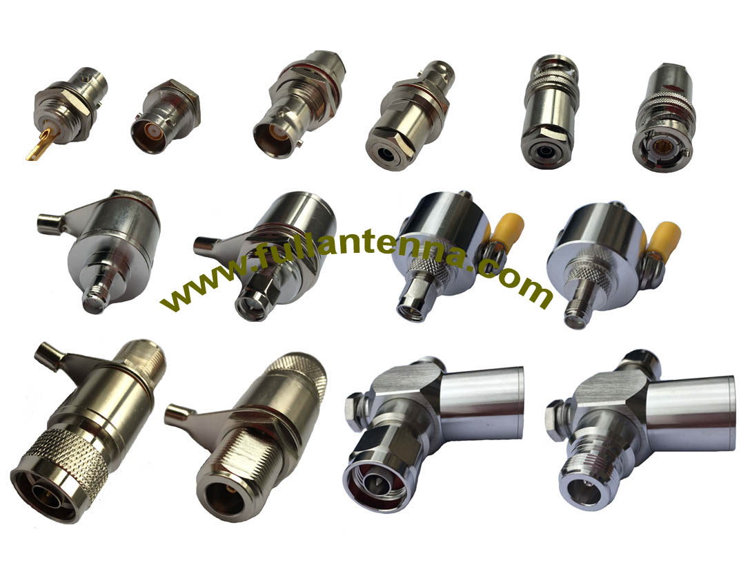 FA.RF Connectors4,all kinds of Triaxial connectors,coaxial lightning surge protector,BNC,N,SMA