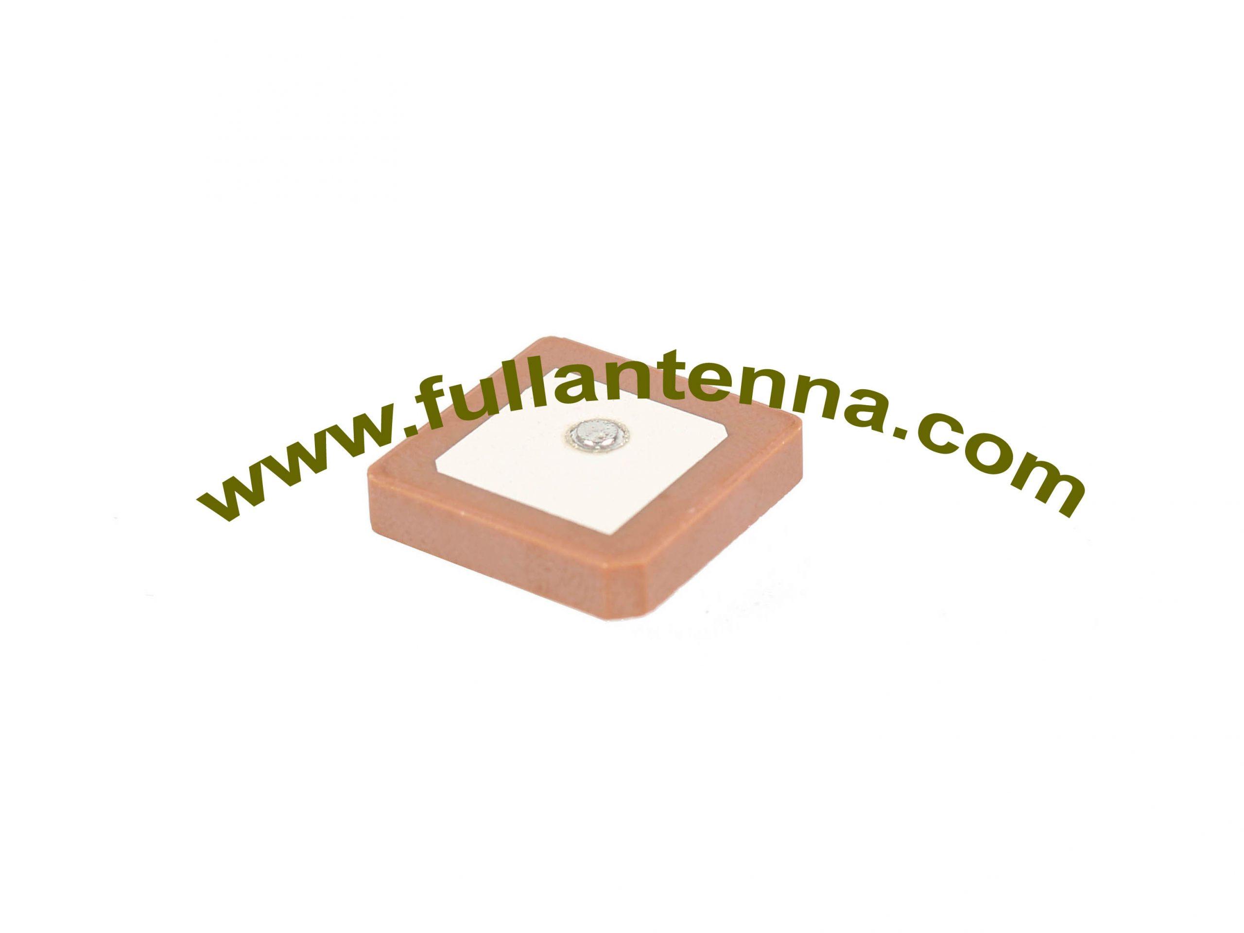 P/N:FAGPS.184,GPS Dielectric Antenna,GPS patch antenna 18x18x4mm  pin mount