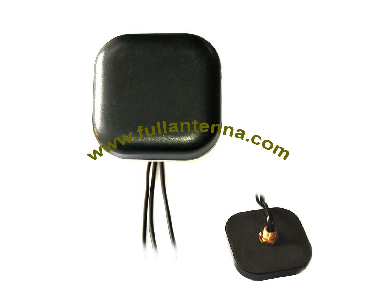 P/N:FAGPSGSMWifi.01 ,3 In 1 Combined Antenna, GPS WIFI GSM antenna FOR CAR with FAKRA or SMA