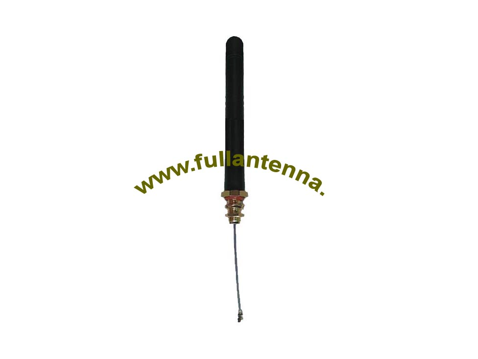 P/N:FALTE.LM3,4G/LTE Rubber Antenna,rubber antenna with IPEX cable length 2-20cm screw mount